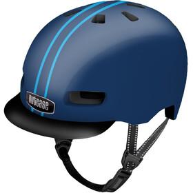 Nutcase Street MIPS Helm, ocean stripe gloss